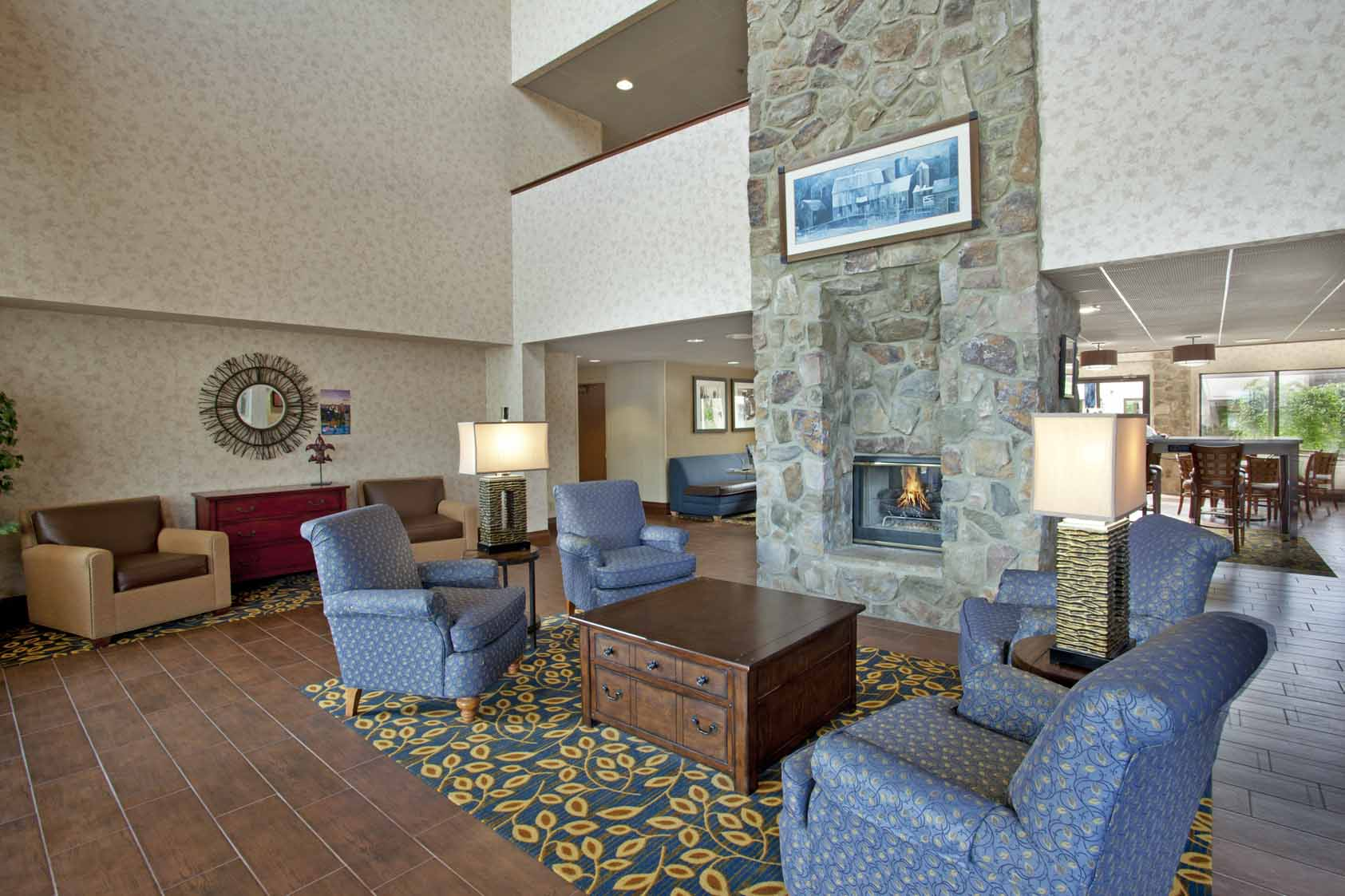 Hampton Inn Chillicothe, OH: Lobby