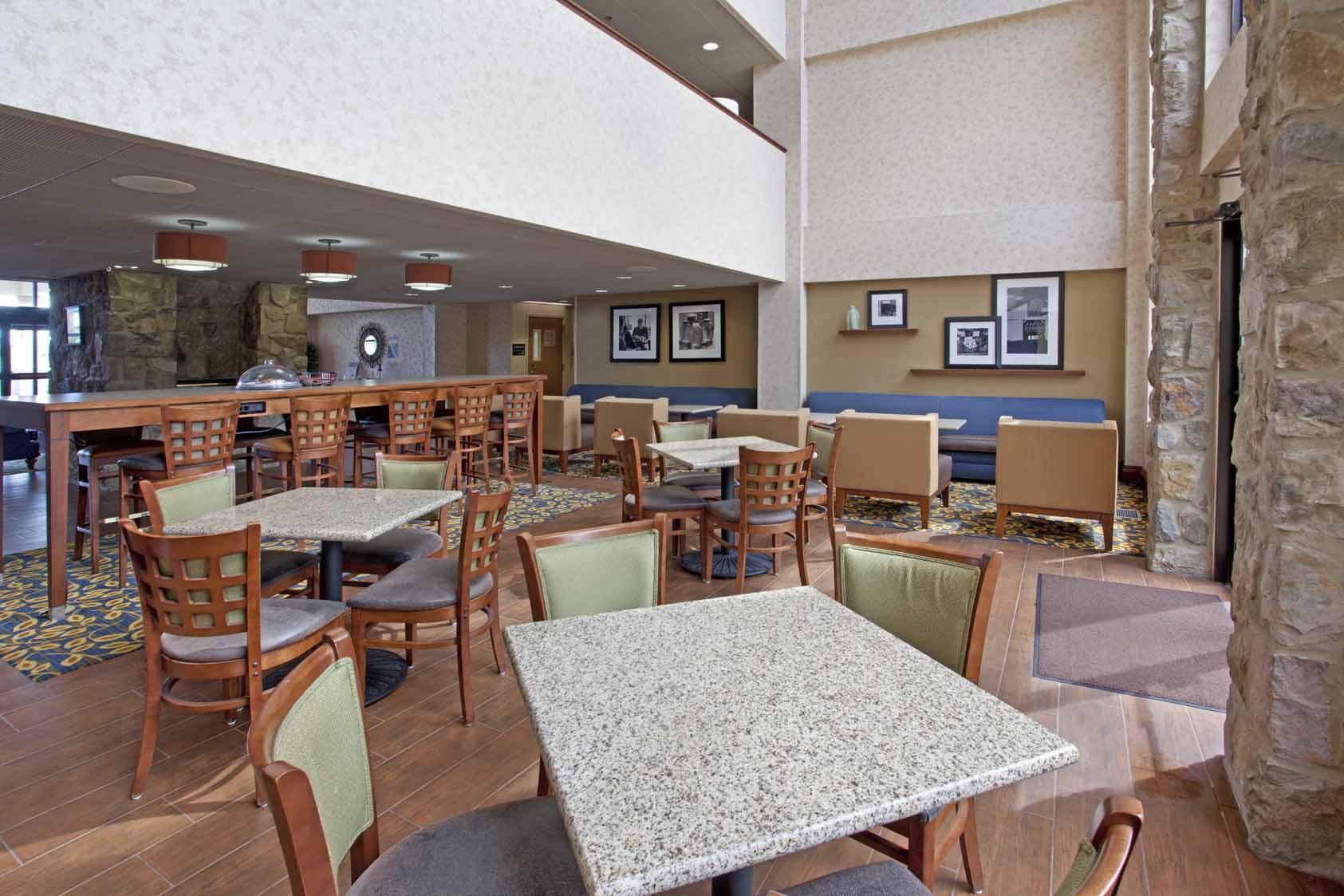Hampton Inn Chillicothe, OH: Dining Area
