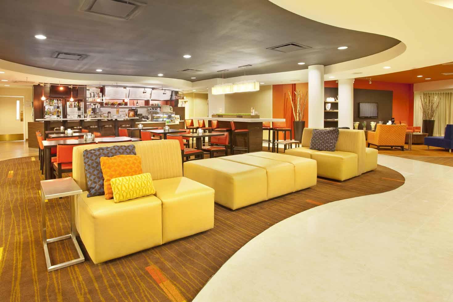 Courtyard Inn El Paso, TX: Dining Area