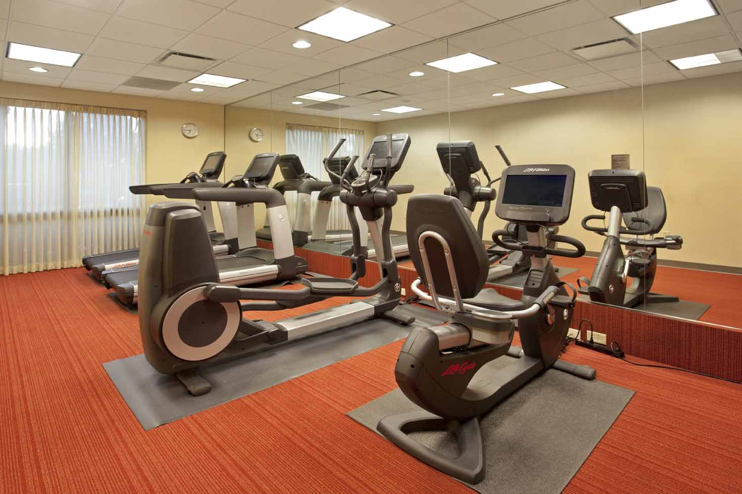 Hyatt Place Orlando: Fitness Room