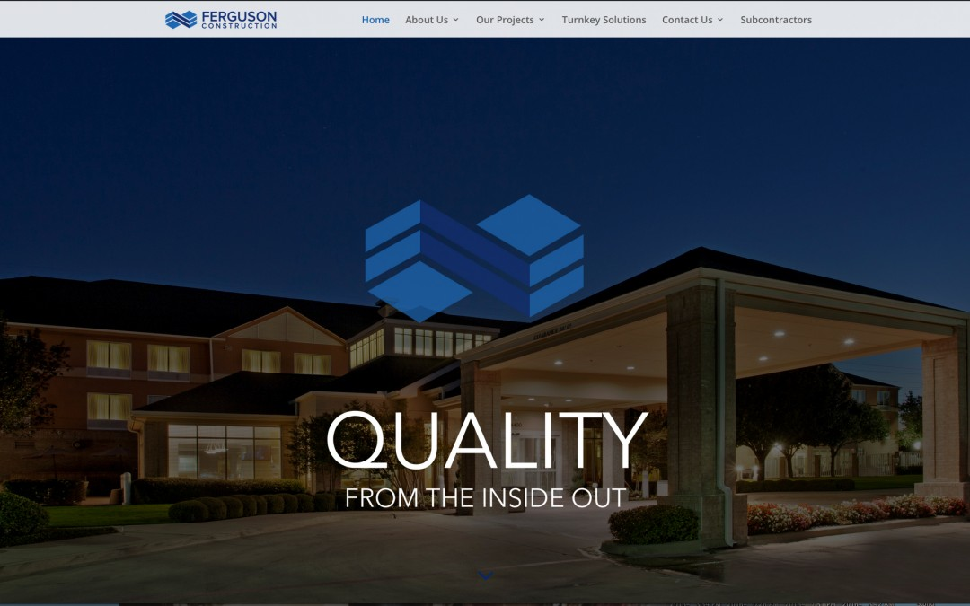 Ferguson Construction's New Website