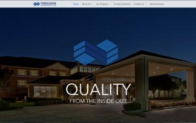 Ferguson Construction's New Website
