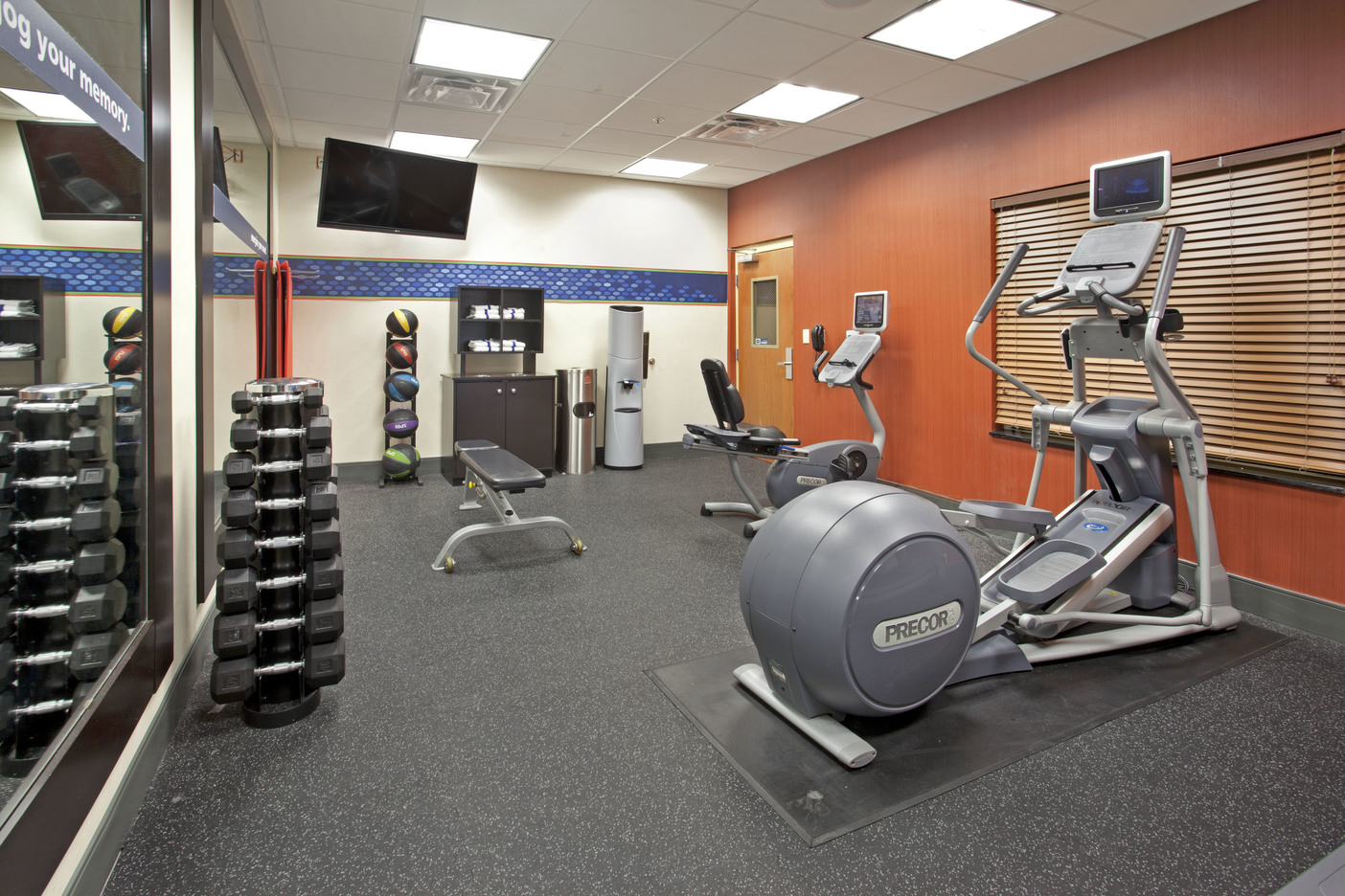 Hampton Inn Fort Worth, TX: Fitness Room