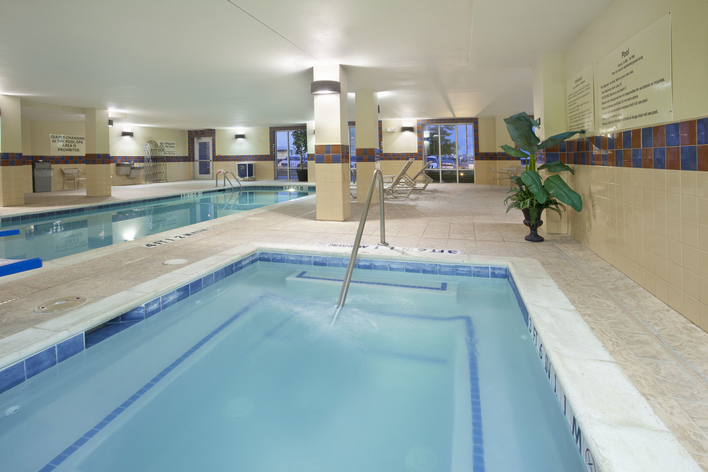 Hampton Inn Fort Worth, TX: Jacuzzi