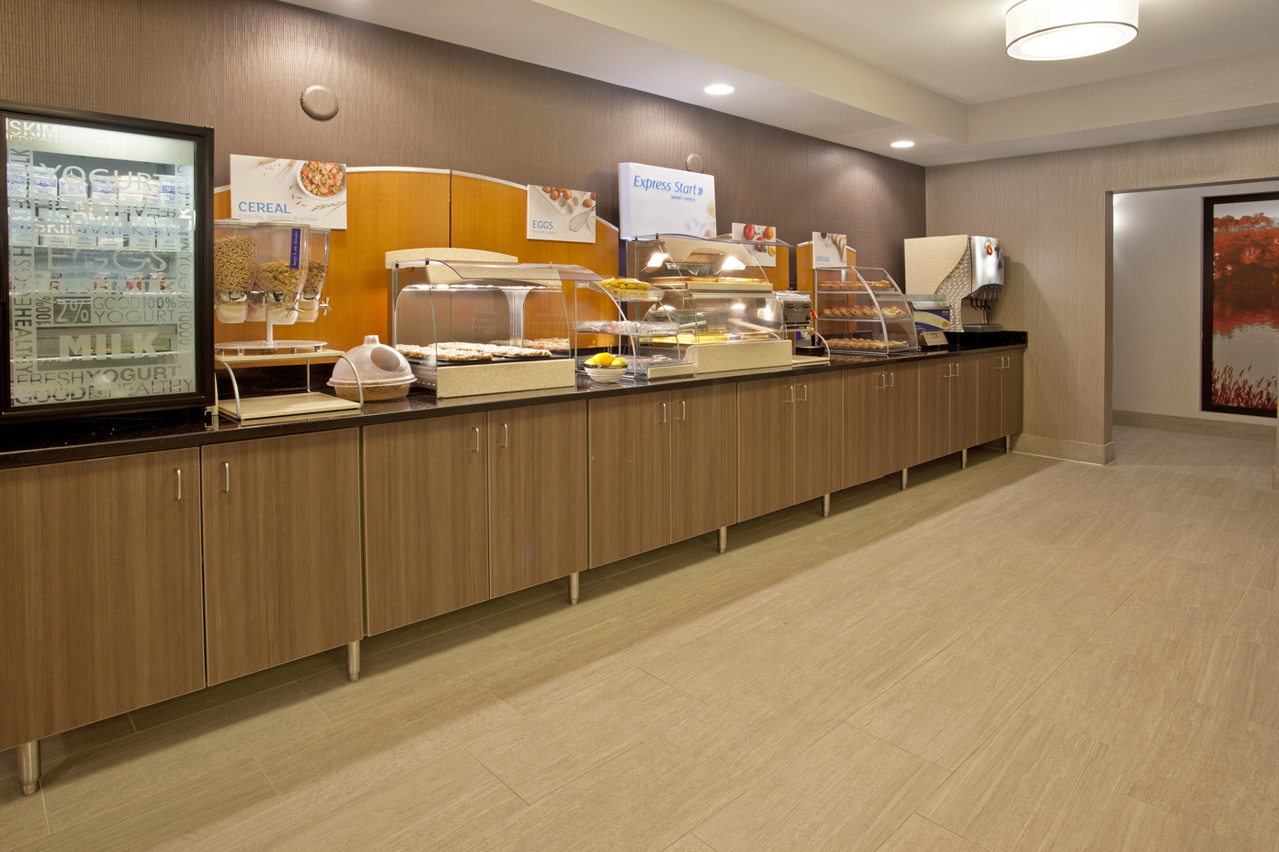 Holiday Inn Express Minnetonka, MN: Breakfast Bar