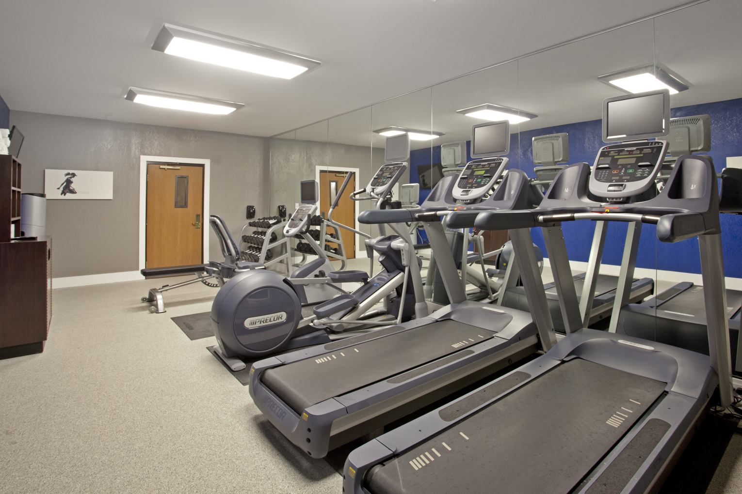 Holiday Inn Express Minnetonka, MN: Fitness Room