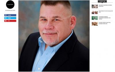 Founder & CEO, James Ferguson, in Voyage Dallas Magazine